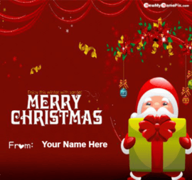 Enjoy winter with Santa on Merry Christmas