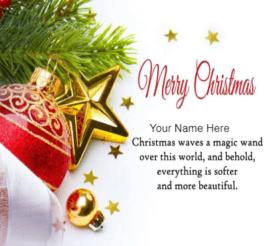 Merry Christmas Beauti Regards