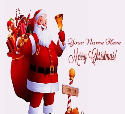 Santa Claus Arrive