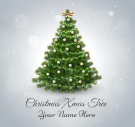 Happy Christmas Xmas Tree