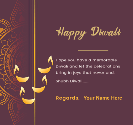 Shubh Diwali Regards