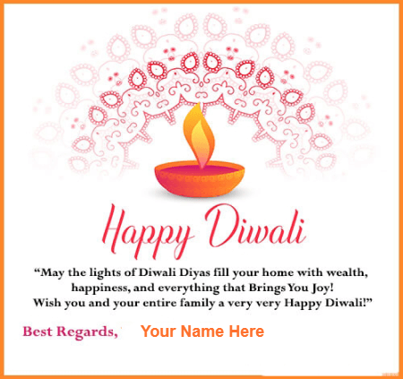 Happy Diwali Best Regards