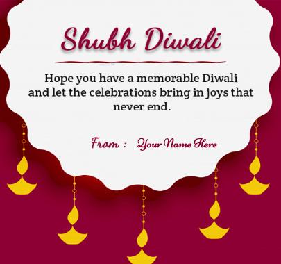 Shudh Diwali Celebration