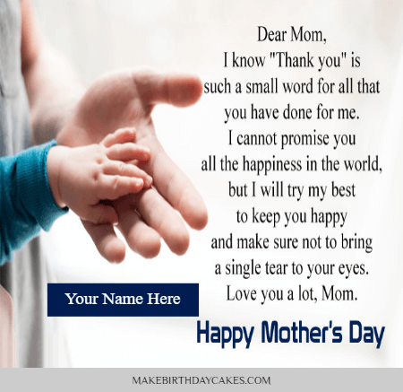 Happy mothers day cards with messages