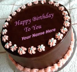 Birthday Chocolate Cakes