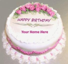 Birthday cake pic
