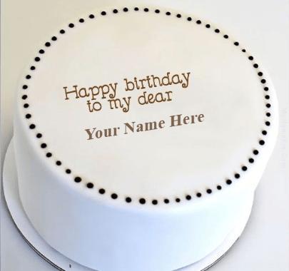 Birthday white cakes