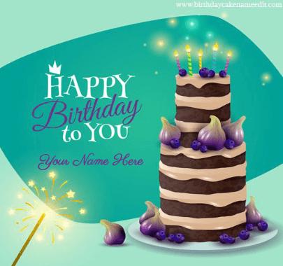 Birthday wish Cakes for gf