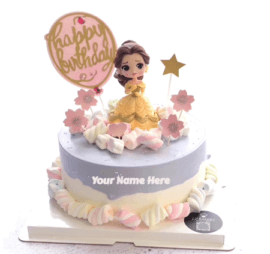 Special birthday cake for girls