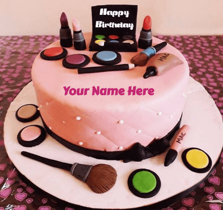 Special birthday cake for wife