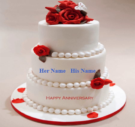 Happy marriage Anniversary Lovely Cake