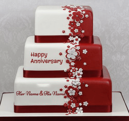 Luxury Cake for Anniversary