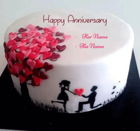 Happy Anniversary Cakes for Couple