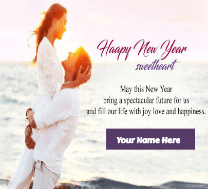 Happy new year wishes for girlfriend