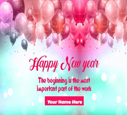 happy new year to girlfriend