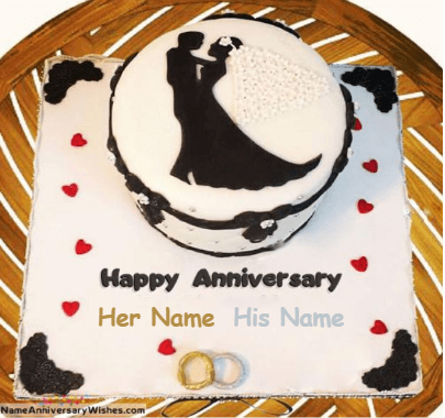 Happy Anniversary Cake Wedding