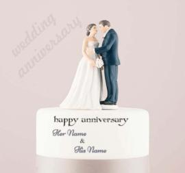 Happy Anniversary Marriage Anniversary Cake