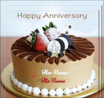 Happy Anniversary Cake Gift