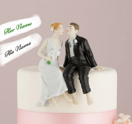 Romantic Anniversary Cake