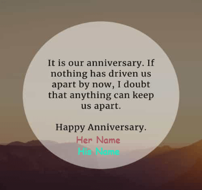 happy anniversary wishes for Caring Couple