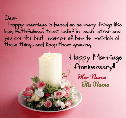 Happy Anniversary Message Wish to Couple
