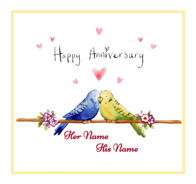 Love Birds Anniversary