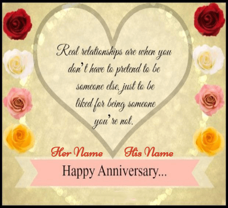 Happy Anniversary Best Regards