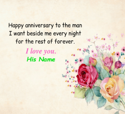 Happy Anniversary for Lover
