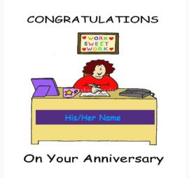 Happy 3rd work anniversary
