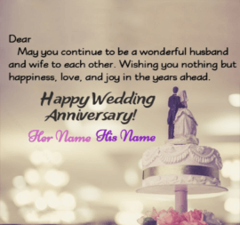 Happy Wedding Anniversary Day Wishes