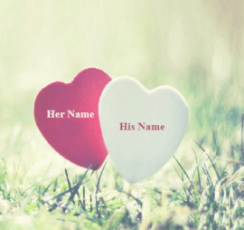 Name With Beautiful Hearts for couple