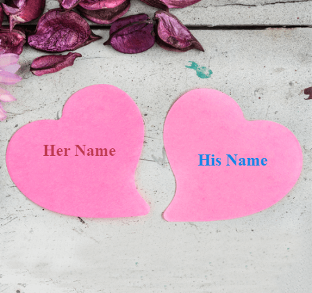 Couples Names with Background images