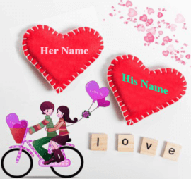 Love Relation With name for couple