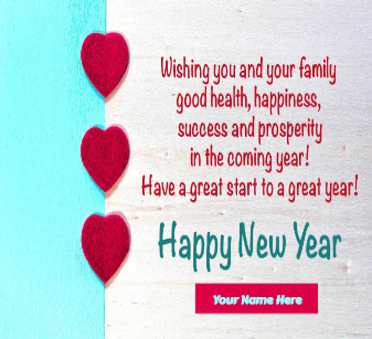 New year 2021 greetings