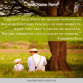 Fathers day Sayings Quote