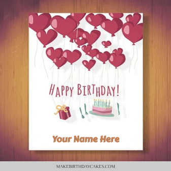 birthday wishe card