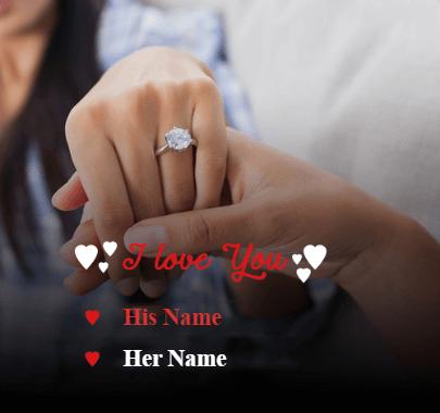 Valentine Day Love You Message