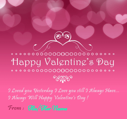 Valentine Day Quotes for lover