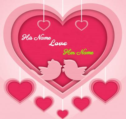 Happy Valentine's Love Birds Day