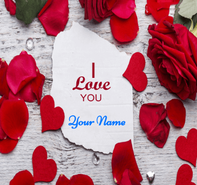 Love You Message on Valentine Day