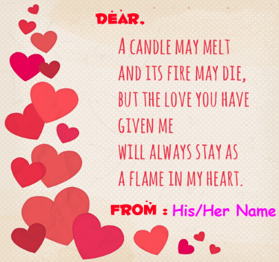 Valentine;s Wish