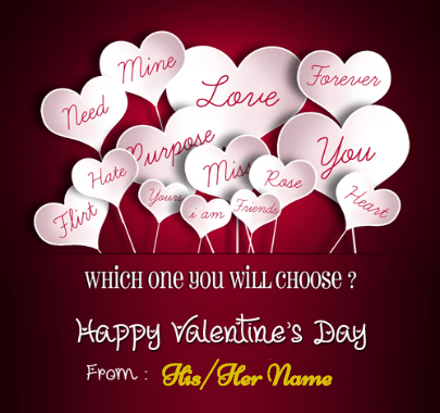 Happy Valentine's Day Gift for Special