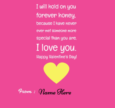 Best Wishes Quotes for Lovers on Valentine's