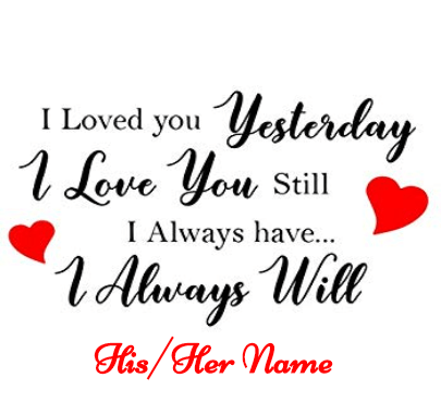 Valentine Day Forever Love Wishes