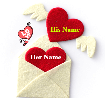 Love letter for Couple on Valentine day
