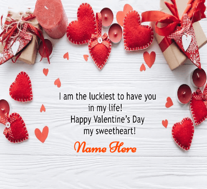 Happy Valentine Day Quote For Sweetheart