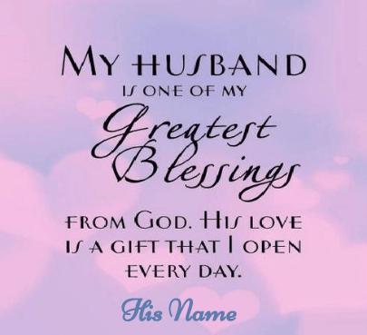 Valentine Day Blessing For Husband