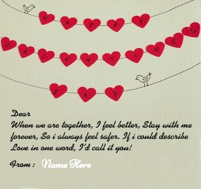 Happy Valentine Day Love Quote For Lover