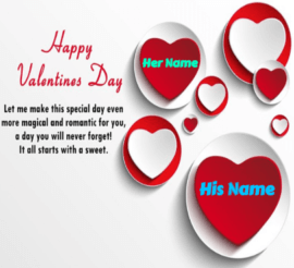 Valentine Day The Day of love and Sweetness