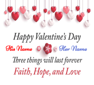 Valentine's Card with Message